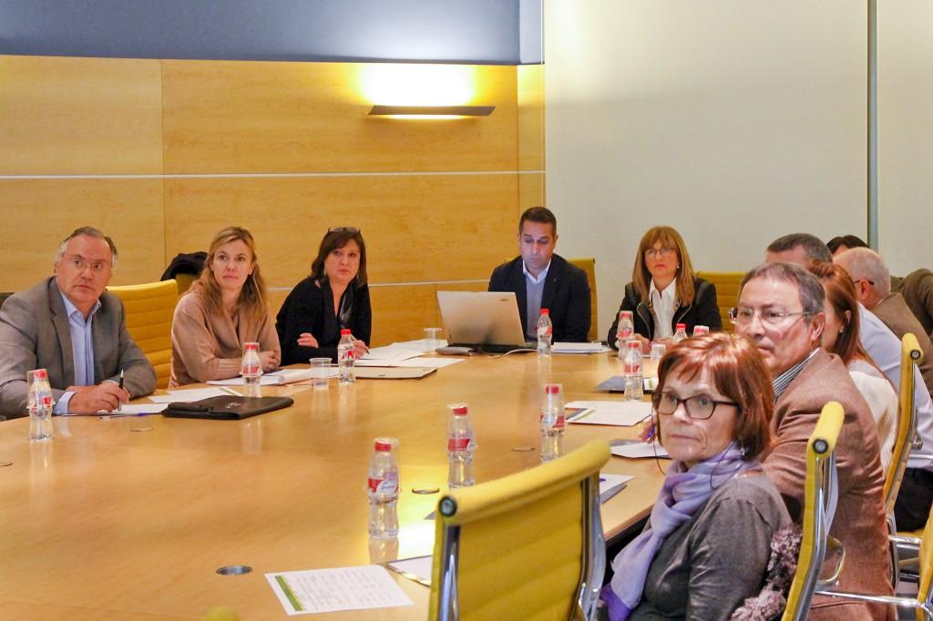 Reunion del Comité Organizador de Laboralia 2016